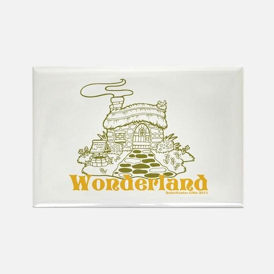 Wonderland Cottage Rectangle Magnet