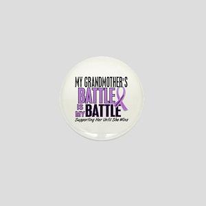 My Battle Too Hodgkin's Lymphoma Mini Button