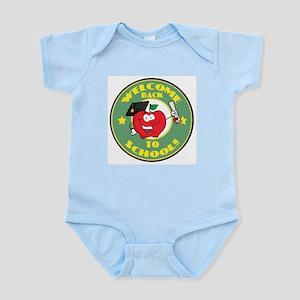 Welcome Back to School Apple Infant Bodysuit