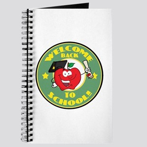 Welcome Back to School Apple Journal