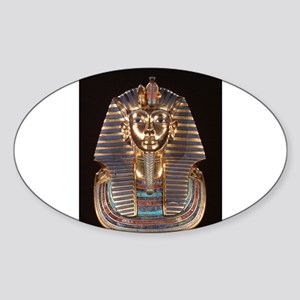 King Tut Sticker (Oval)