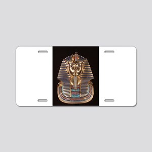 King Tut Aluminum License Plate