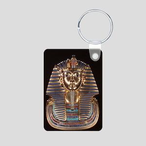 King Tut Aluminum Photo Keychain