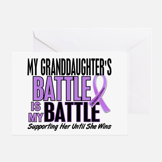 My Battle Too Hodgkin's Lymphoma Greeting Card