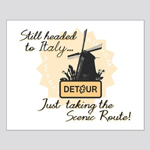 Scenic Route (Holland Detour) Small Poster