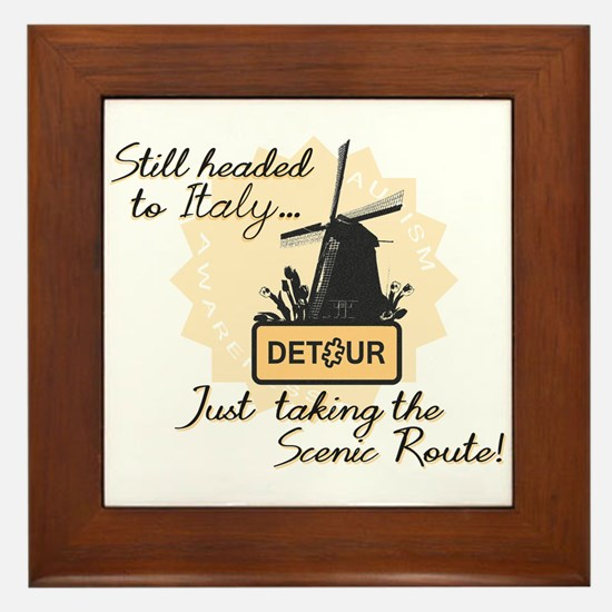 Scenic Route (Holland Detour) Framed Tile