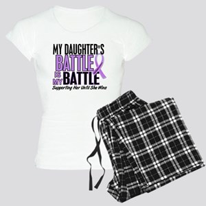 My Battle Too Hodgkin's Lymphoma Women's Light Paj