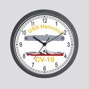 USS Hancock CV-19 Wall Clock
