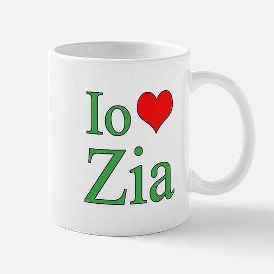 I Love Aunt (Italian) Mug