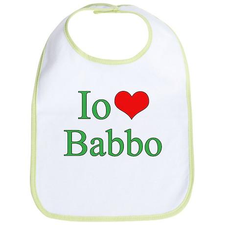 I Love Dad - 2 - (Italian) Bib