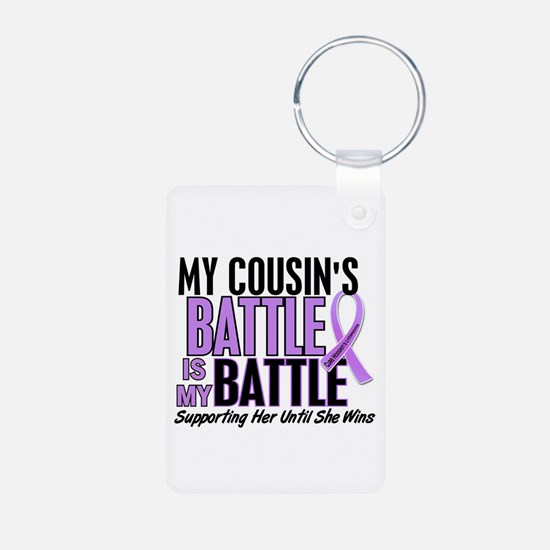 My Battle Too Hodgkin's Lymphoma Keychains