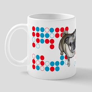 Mod Pug Mug