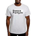 DanceParty.tv Ash Grey T-Shirt