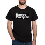 DanceParty.tv Black T-Shirt