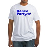 DanceParty.tv Fitted T-Shirt