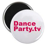 "DanceParty.tv 2.25"" Magnet (10 pack)"