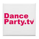 DanceParty.tv Tile Coaster