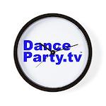 DanceParty.tv Wall Clock
