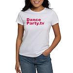 DanceParty.tv Women's T-Shirt