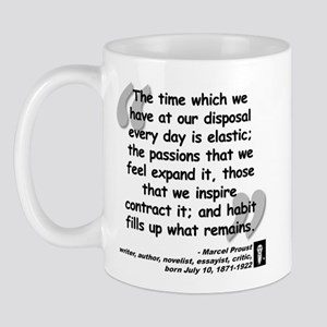 Proust Time Quote Mug