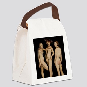 Spanked Ladies Canvas Lunch Bag