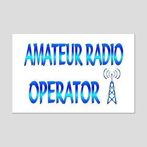 Amateur Radio Mini Poster Print