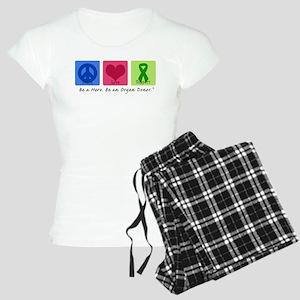 Peace Love Support Women's Light Pajamas
