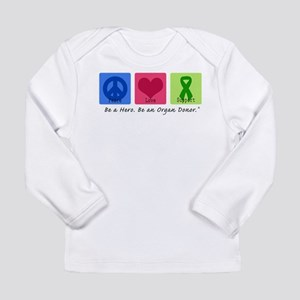 Peace Love Support Long Sleeve Infant T-Shirt