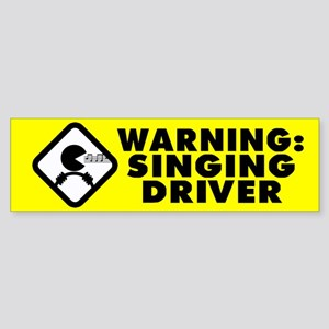 Karaoke Therapy Bumper Sticker