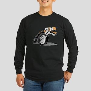 The Mile Long Sleeve Dark T-Shirt