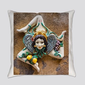 Trinacria Everyday Pillow