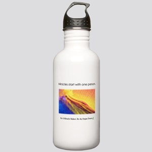 One Person Miracle Stainless Water Bottle 1.0L