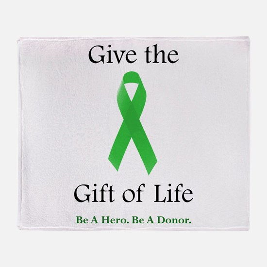 Gift of Life Throw Blanket