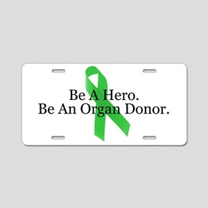 Bold Organ Donor Aluminum License Plate