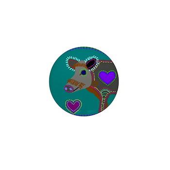 Wild Boar Mini Button (10 pack)