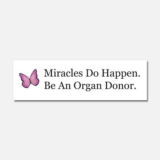 Organ Donation Awareness Car Magnet 10 x 3