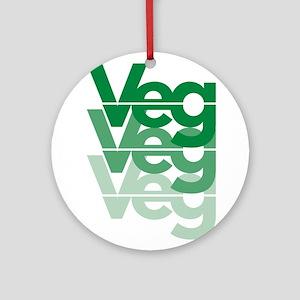 Veg Designs Ornament (Round)