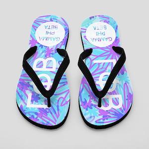 Gamma Phi Beta Purple Flip Flops