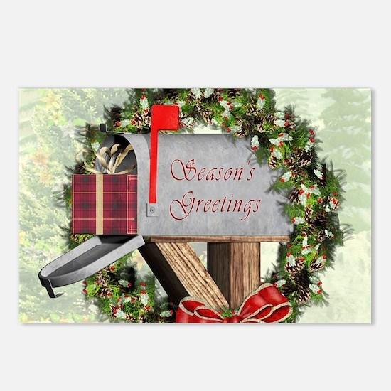 Season's Greetings Po Postcards (Package of 8)