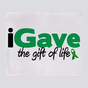 iGave Life Throw Blanket