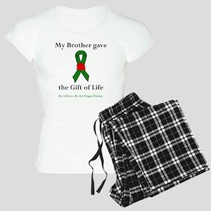 Brother Donor Women's Light Pajamas