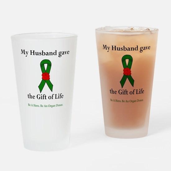 Husband Donor Pint Glass