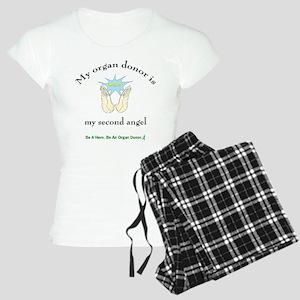 Organ Donor Angel Wings Women's Light Pajamas
