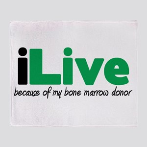 iLive Bone Marrow Throw Blanket