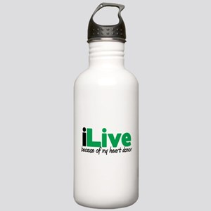 iLive Heart Stainless Water Bottle 1.0L