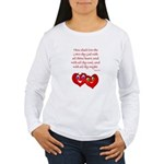 Hearts for God Women's Long Sleeve T-Shirt