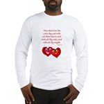 Hearts for God Long Sleeve T-Shirt