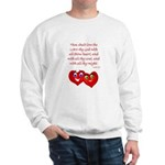 Hearts for God Sweatshirt