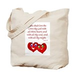 Hearts for God Tote Bag
