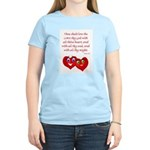 Hearts for God Women's Light T-Shirt